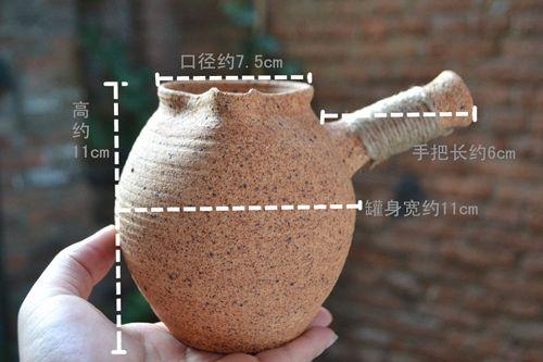 云南烤茶罐 煮茶 干炒茶 烘焙茶 泡茶 公道 耐火土窑
