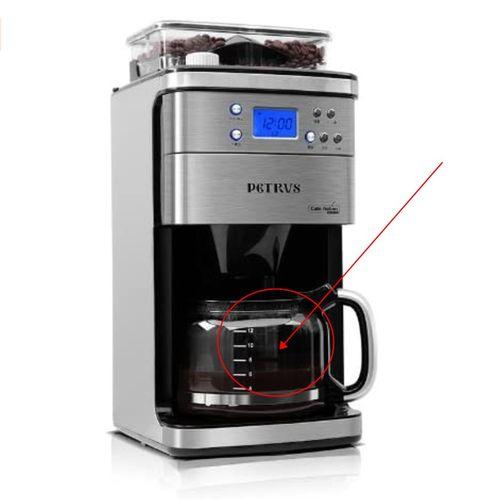 柏翠pe3500咖啡机配件 玻璃壶 滤网滴漏阀滤纸