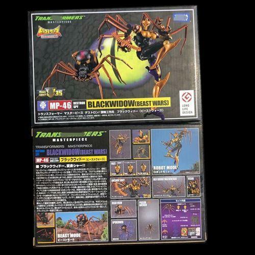 金侠玩具-超兽变形bwmp46刚黑勇士猛能毒蜘蛛寡妇勇士