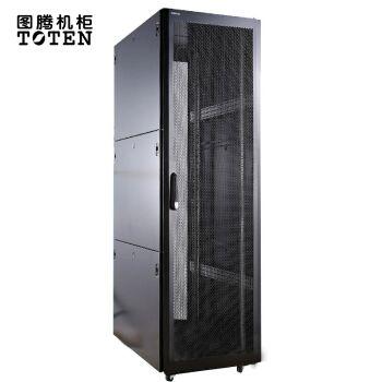 图腾(toten) k36842 网络机柜 42u加厚机柜 交换机 门