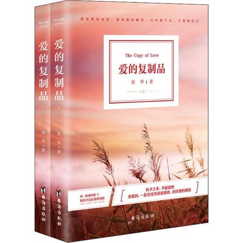 爱的复制品(2册) 台海出版社 梁华 著作 情感小说 爱