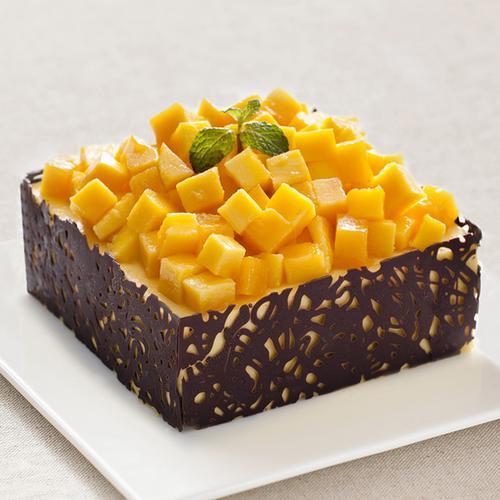 芒果冰淇淋蛋糕
