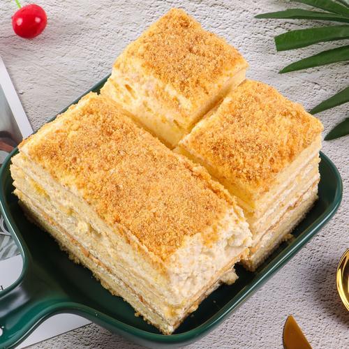 千层提拉米苏拿破仑蛋糕无面粉无麸质生酮吧生酮蛋糕