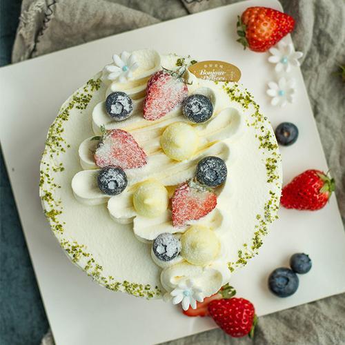 法式草莓奶油蛋糕