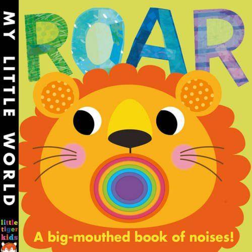 英文原版 roar 狮子叫吼(异形书)