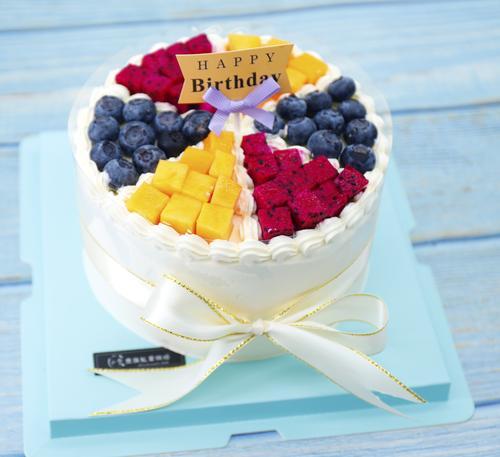 六拼水果蛋糕(下单请先看详情)