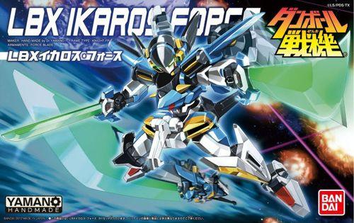 纸箱战机wars lbx-030 ikaros force 伊卡洛斯/强袭型